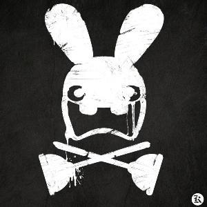 dessin t-shirt Un lapin spécial geek original