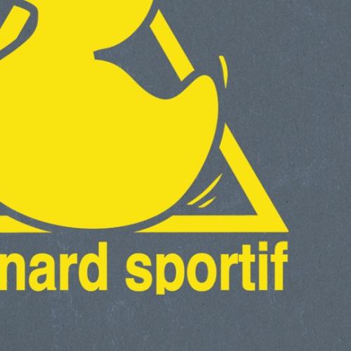 zoom t-shirt Le canard sportif geek original