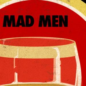 zoom t-shirt Mad Men & Lucky Strike geek original