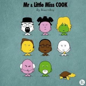 dessin t-shirt Monsieur et Madame Breaking Bad geek original