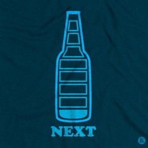 dessin t-shirt Canette de bière geek original