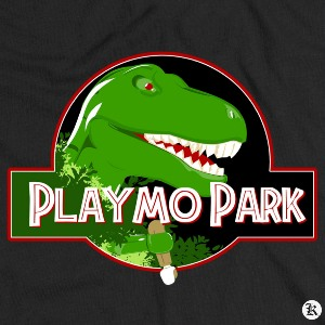 dessin t-shirt Playmobil Park geek original