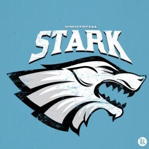 dessin t-shirt Winterfell – Stark geek original