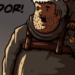 zoom t-shirt Hodor Mordor geek original
