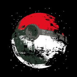 t-shirt Poked to Death étoile de la mort