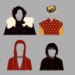 zoom t-shirt Le trône de fer – fan art geek original