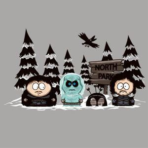 dessin t-shirt North Park geek original