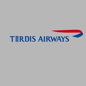 dessin t-shirt Tardis Airways geek original