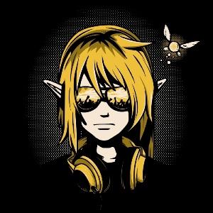 dessin t-shirt DJ Link geek original