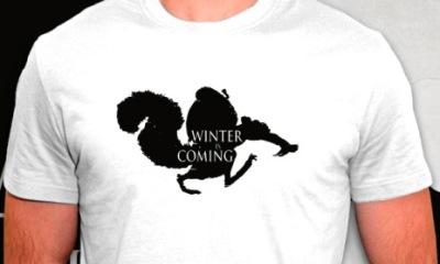 t-shirt Scrat