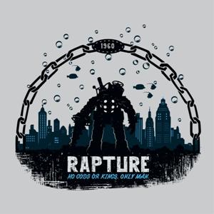 dessin t-shirt Bioshock geek original