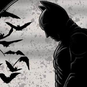 zoom t-shirt Le blues de Batman geek original