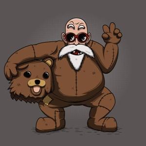 dessin t-shirt Pedobear geek original