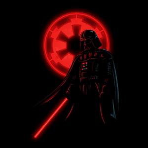 dessin t-shirt Dark Vader geek original