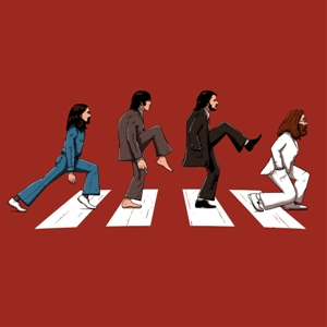 dessin t-shirt Abbey road geek original