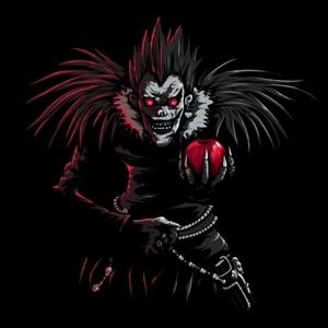 dessin t-shirt Un dieu de la mort et sa pomme geek original