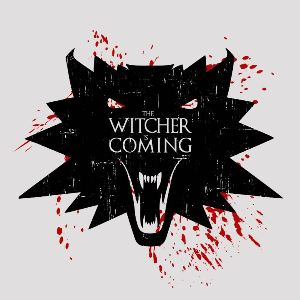 dessin t-shirt The witcher geek original