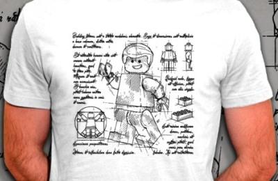 t-shirt Aux origines du Lego