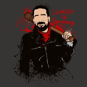 dessin t-shirt Lucille is coming geek original