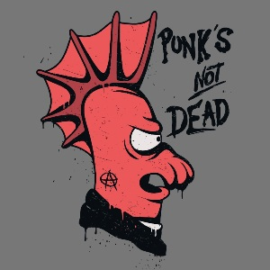 dessin t-shirt Punk Futurama geek original