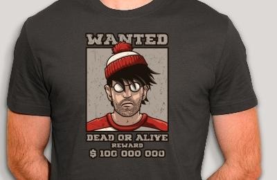 t-shirt Où est Charlie