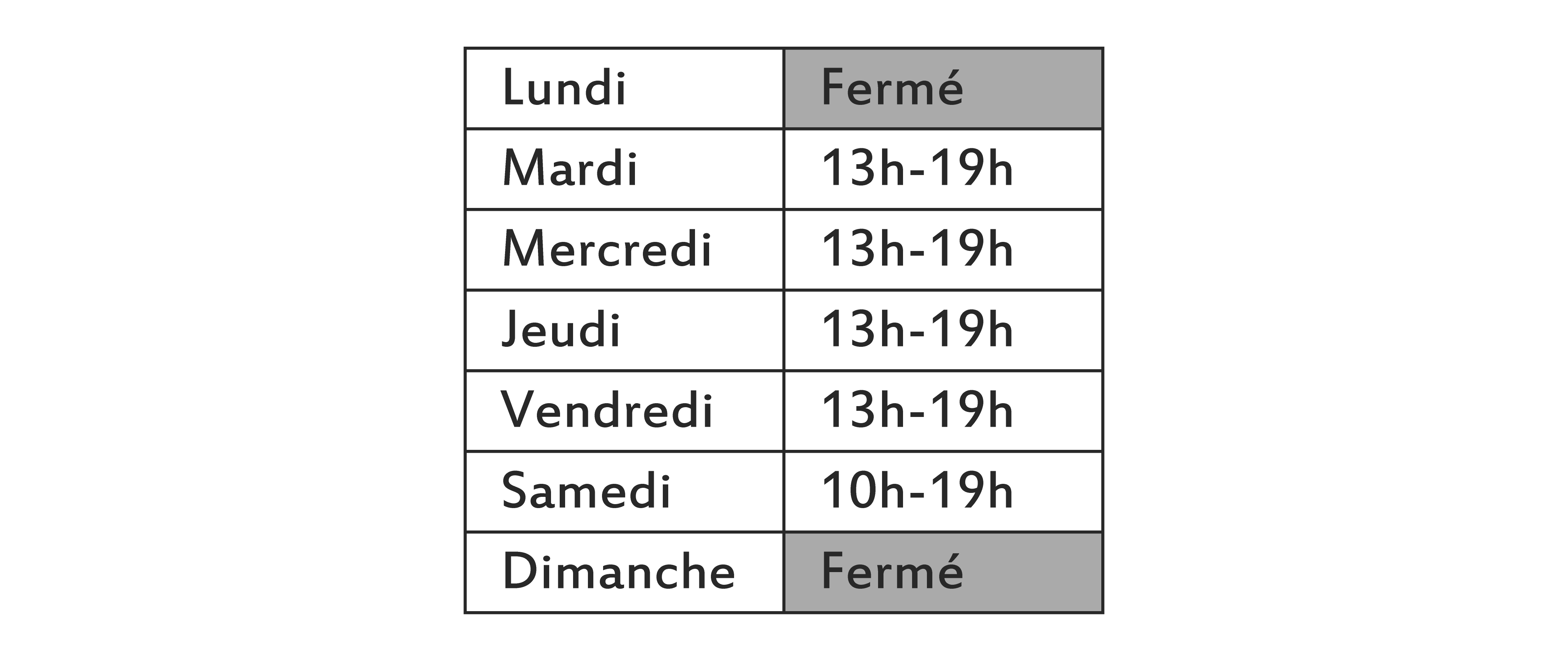 Horaire12