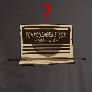 dessin t-shirt Le chat de Schrodinger geek original