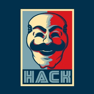 dessin t-shirt Hacker geek original