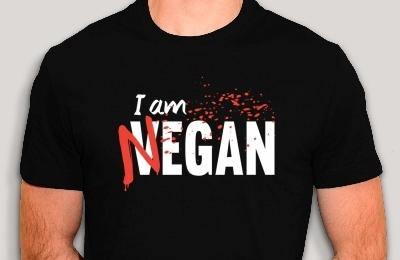 T-shirt Vegan Negan