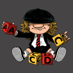 t-shirt AC/DC – Angus Young