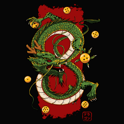 t-shirt Shenron