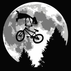 t-shirt ET backflip