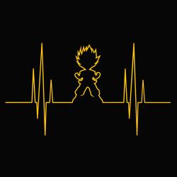 t-shirt Dragon Ball Electro Saiyan
