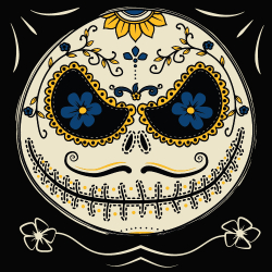 Jack Skellington Skull