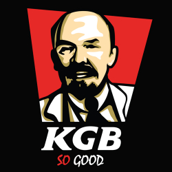 t-shirt KGB by Lénine