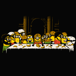 t-shirt Un festin de minions