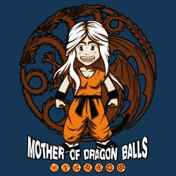 t-shirt Dragon Ball Khaleesi