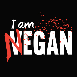 t-shirt Vegan – Negan