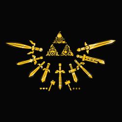 t-shirt Triforce