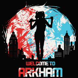 t-shirt Welcome to Arkham