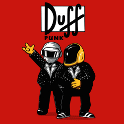 Homer Duff Punk