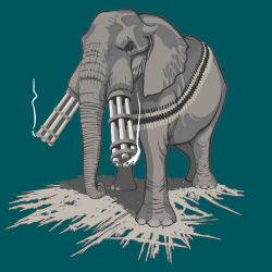 Défenses d'éléphant