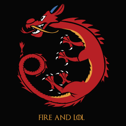 t-shirt Mushu – Game of Thrones