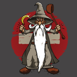t-shirt Gandalf-ix