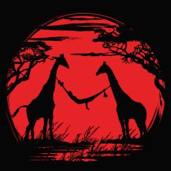t-shirt Girafes d'Afrique