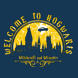 t-shirt Welcome to Hogwarts