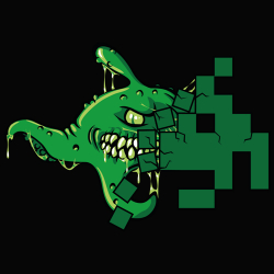 t-shirt Alien Space Invader