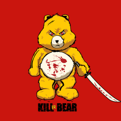 t-shirt Kill Bill….Kill Bear….