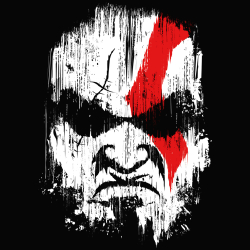 t-shirt Kratos Paint