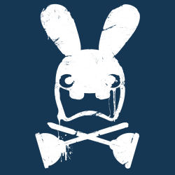 t-shirt Lapin crétin – fan art